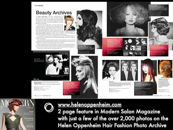 Modern Salon 2 Pages