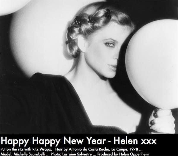 Happy New Year  2013 With Ritz Wrapz 1978