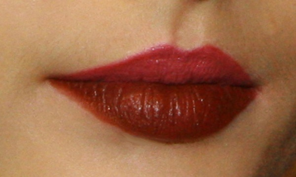 Two Tone Red Lips