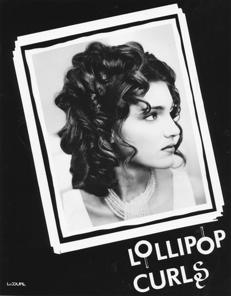 Lollipop Curls on 16 year old - 1993