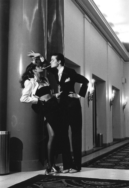 Helmut Newton Man-Woman Ambiguity - 1979