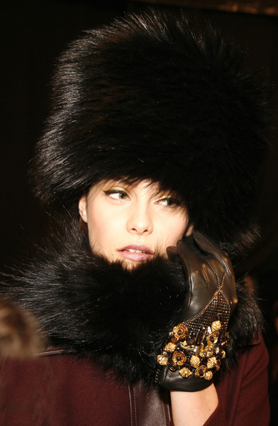 Bundle Up With Style, Badgley Mischka - 2014