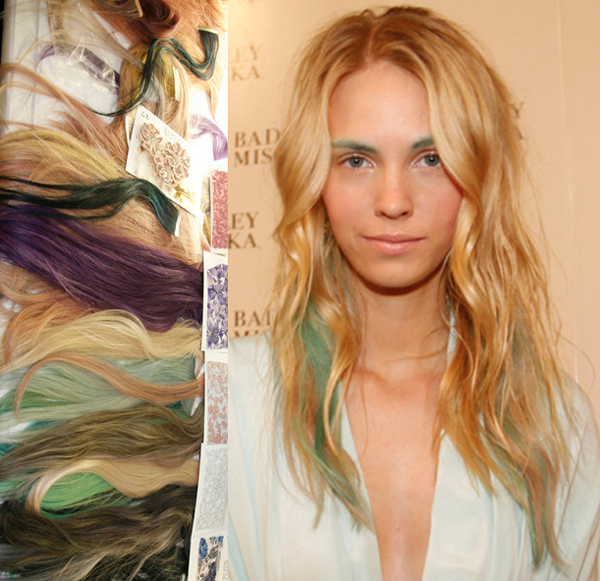 Subtle Hair Color Added @ Badgley Mischka – 2015