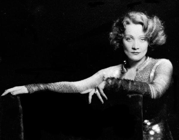 Marlene Dietrich Making Waves - 1931