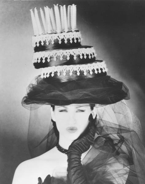 La Coupe's Anniversary Cake Hat - 1992