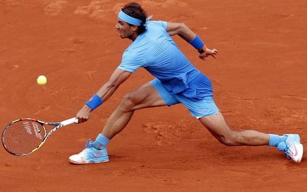 Rafael Nadal In Blues @ French Open - 2015