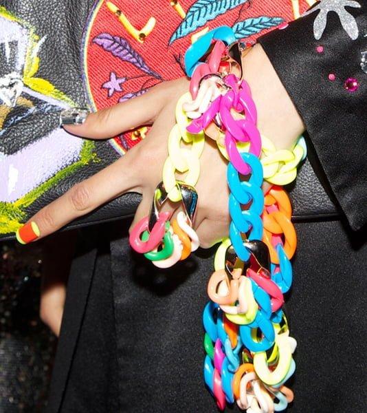 Neon Bracelets @ Libertine #NYFW Spring - 2016