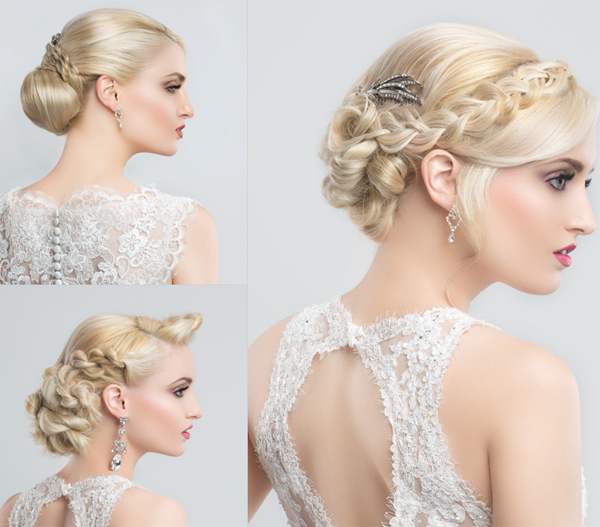Romantic Brides With Braids - 2015
