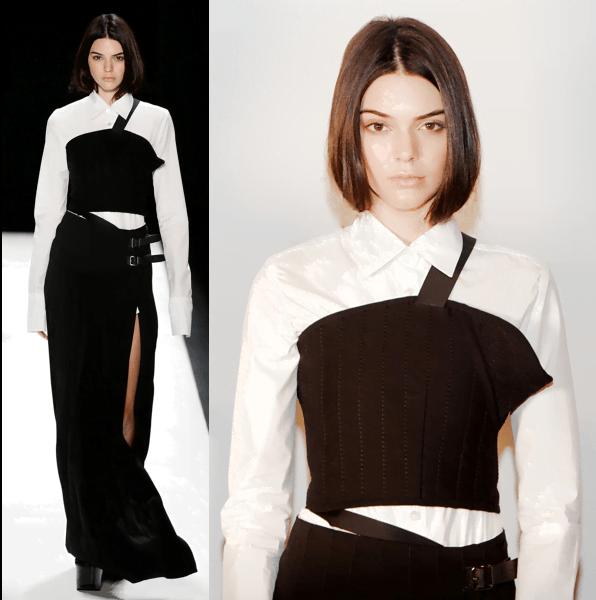 Kendall Jenner @ Vera Wang NYFW Fall - 2016
