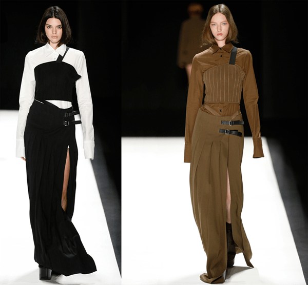 Long Skirts With Splits @ Vera Wang – 2016