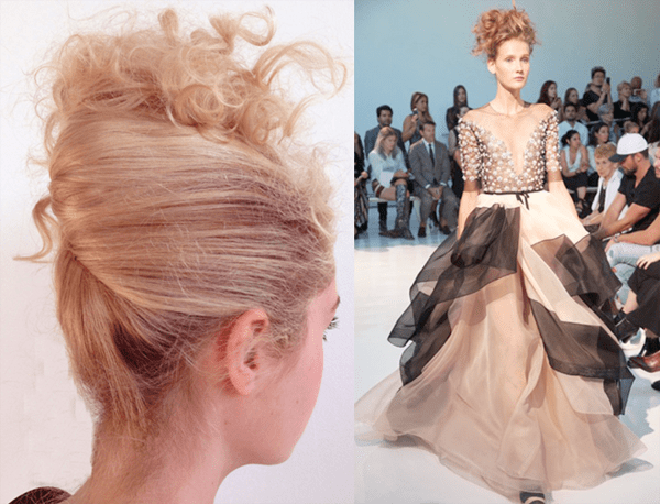 Dreamy Fashions and Hair @ Reem Acra – 2017