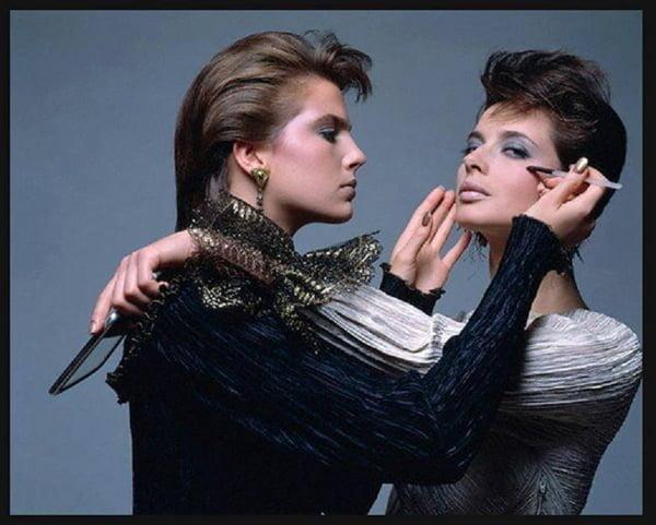 Rare Photo Isabella Rossellini - 1982