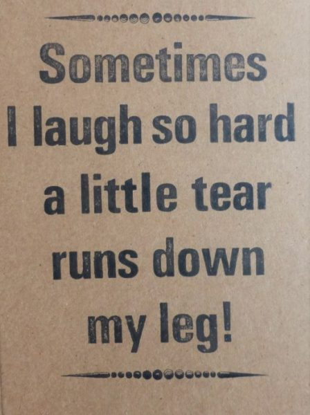 Letterpress Card – Tear