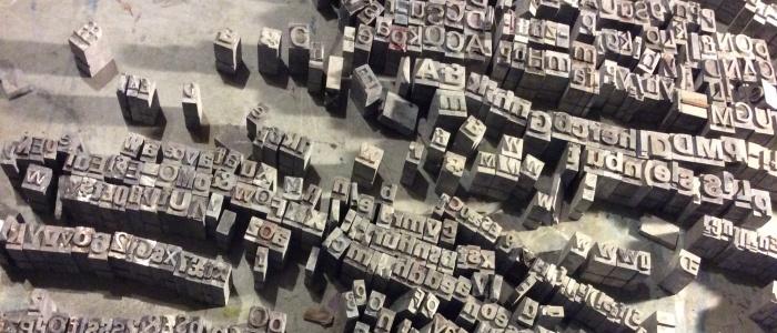 Letterpress Workshop at the Hepworth