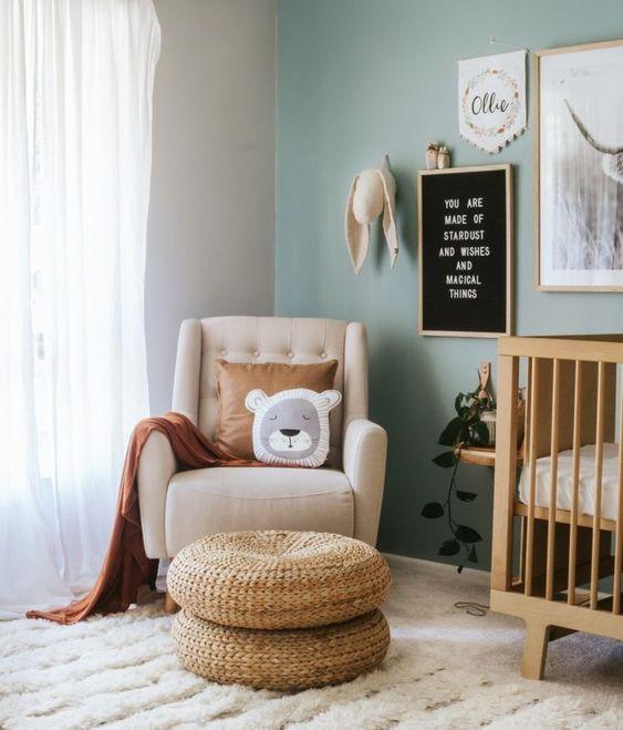 Helen Rowan Photography Green Nursery Trend Newborn