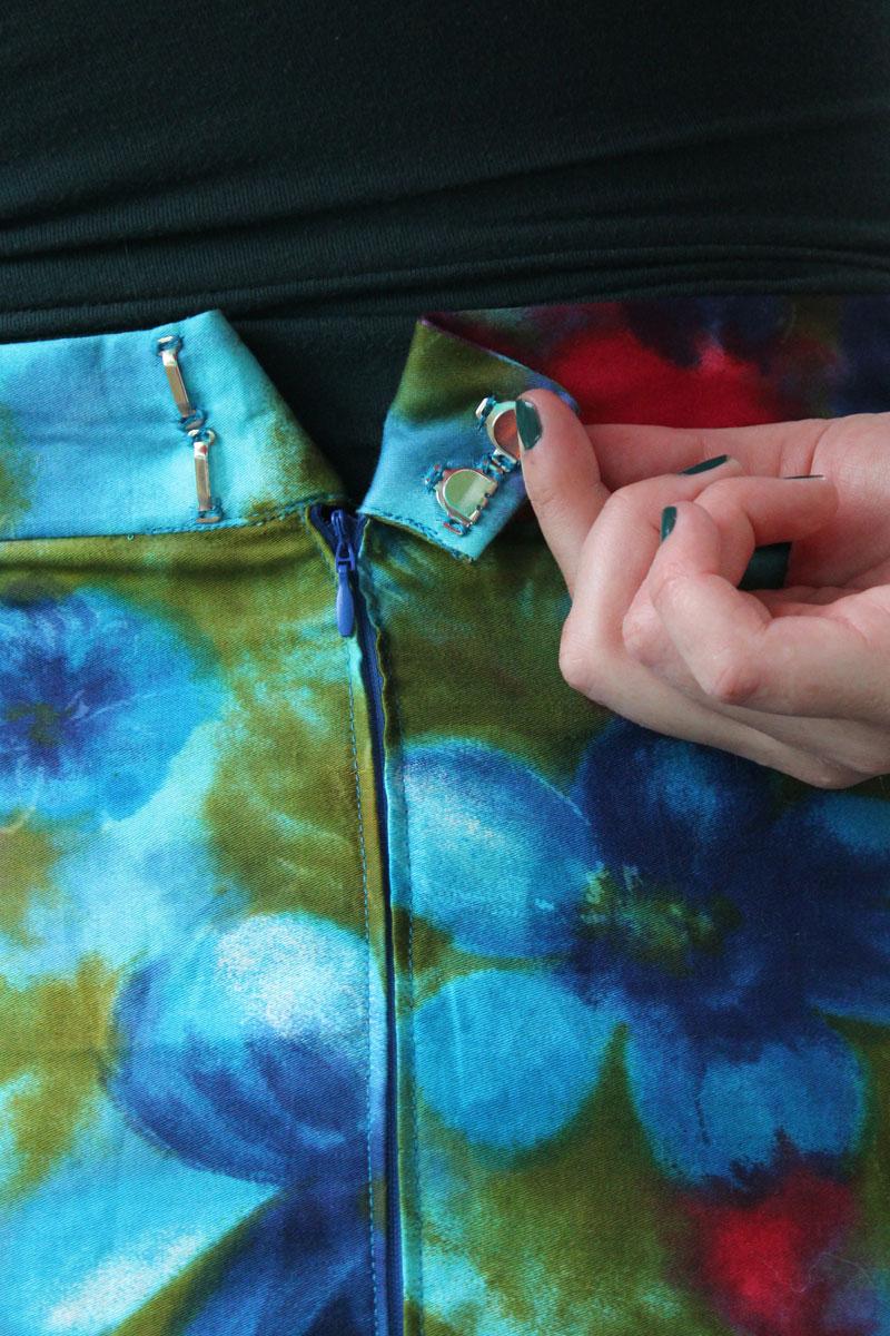 Watercolour Pencil Skirt  U2013 Helen U0026 39 S Closet