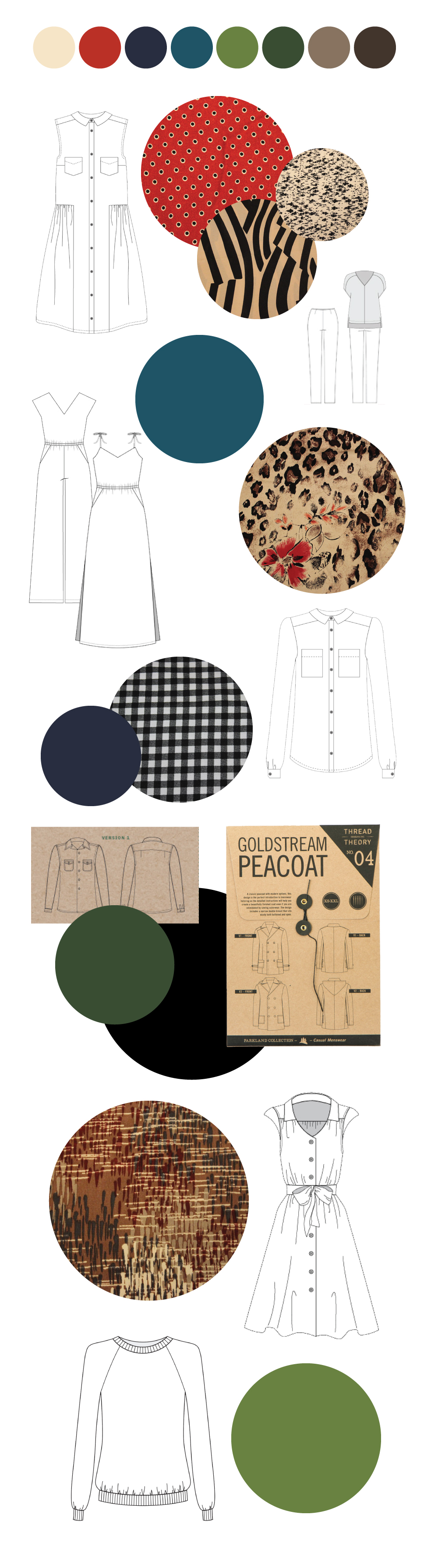 Fall Sewing Plans by Helen's Closet