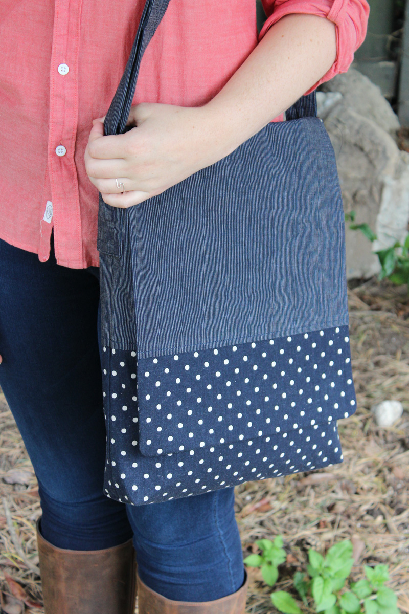 Granger Book Bag PDF Pattern by Helen's Closet