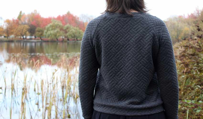 Grainline Linden Sweater by Helen's Closet