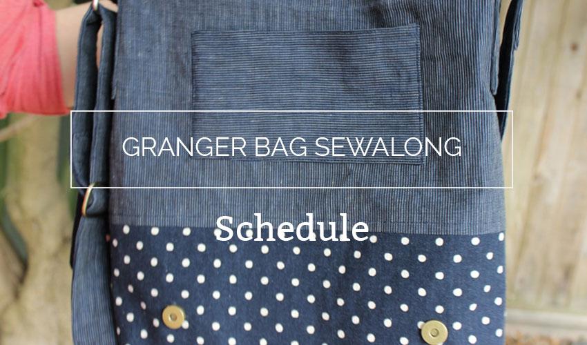Granger Book Bag Sewalong