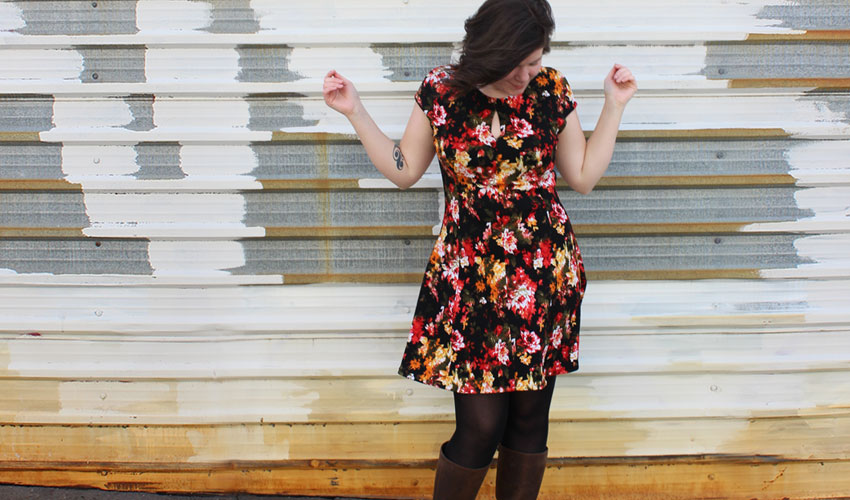 Helen's Closet Davie Dress by Sewaholic Patterns