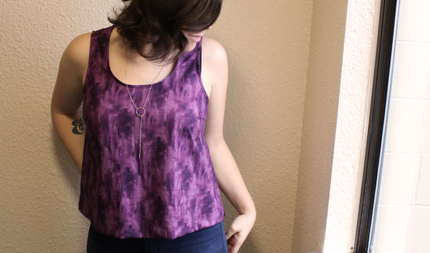 Kate Top by Tessuti Patterns - Sewing by Helen's Closet