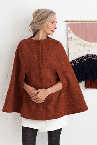 Camden Cape by Seamwork