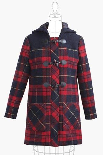 Cascade Duffle Coat by Grainline Studio