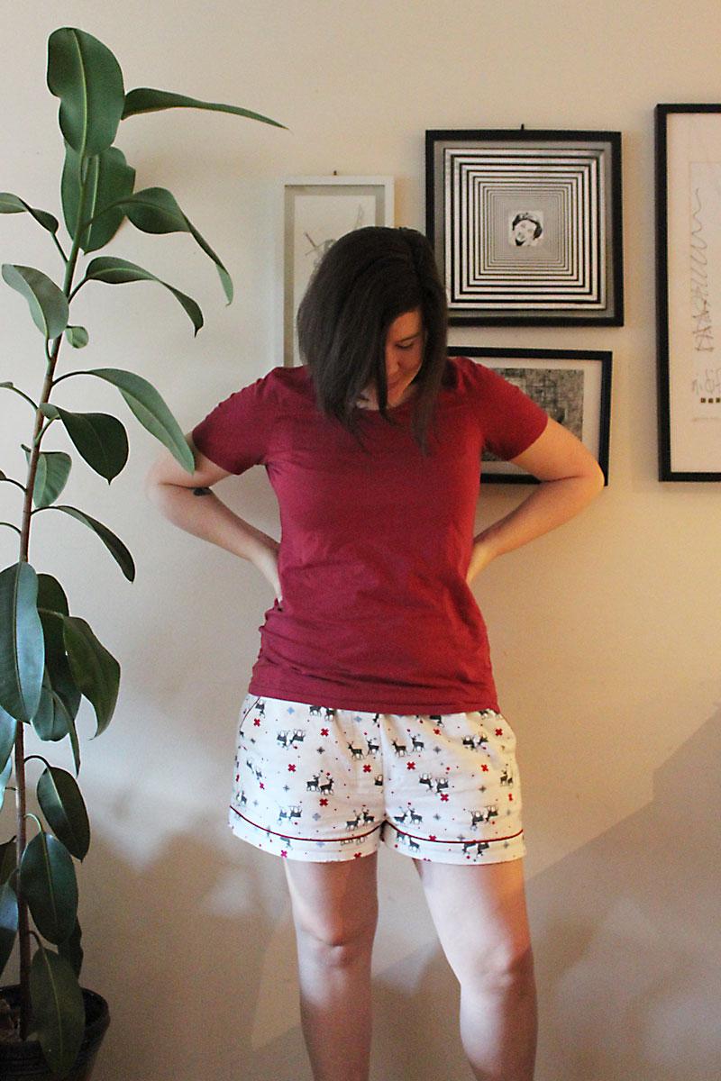 Closet Case Files Carolyn Pajama Shorts by Helen's Closet