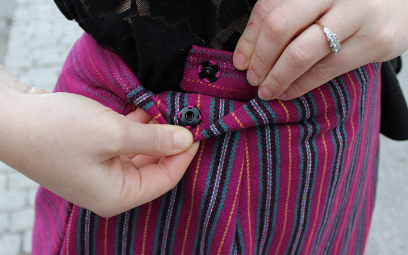 Sew DIY Nita Wrap Skirt by Helens Closet