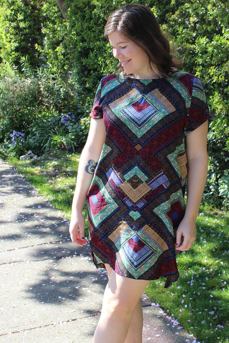 Named Inari Tee Dress by Helen's Closet