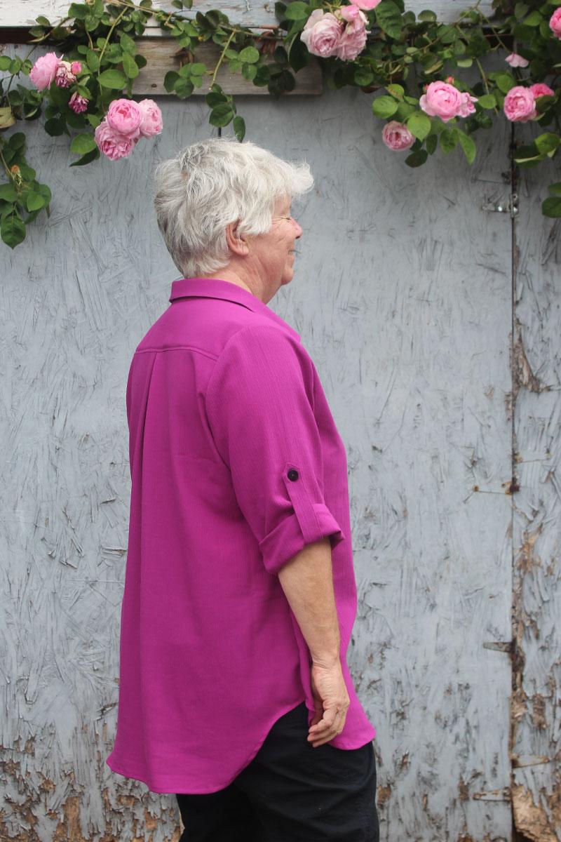 Itch to Stitch Mila Shirt by Helen's Closet