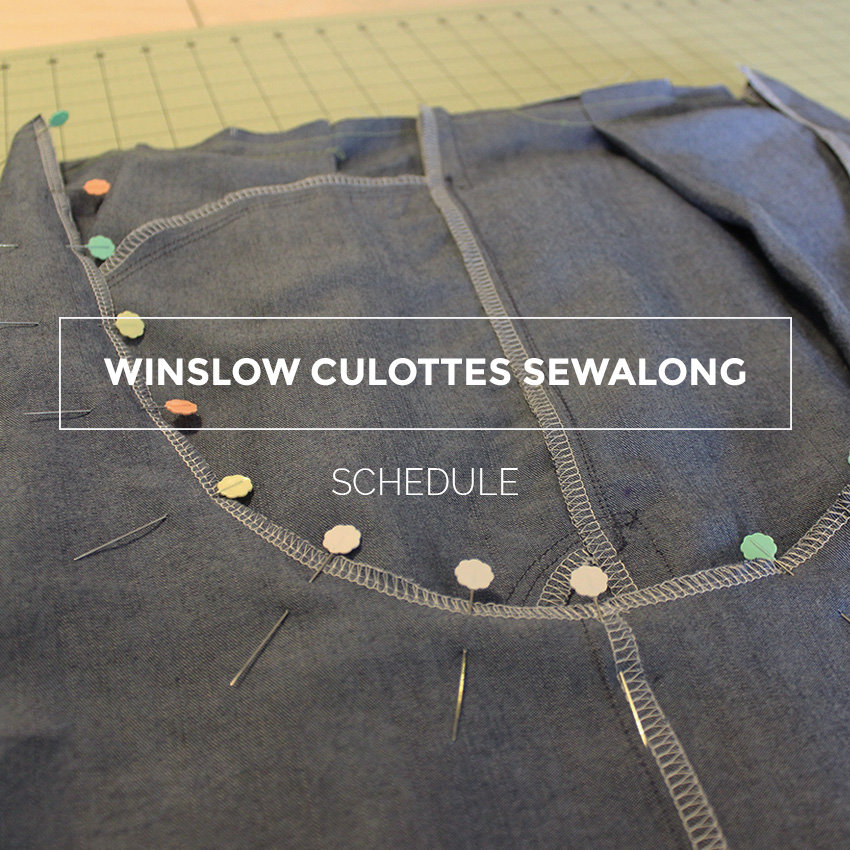 Winslow Culottes Sewalong