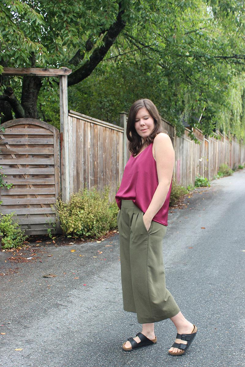 True Bias Ogden Tank and Emerson Crop Pants by Helens Closet