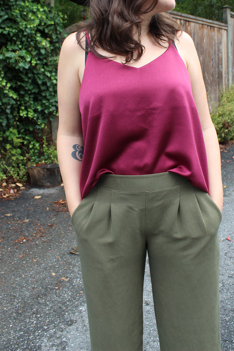 True Bias Ogden Tank and Emerson Crop Pants by Helens Closet