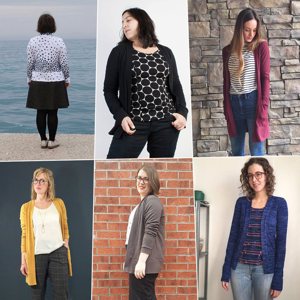 Blackwood Cardigan Tester Roundup
