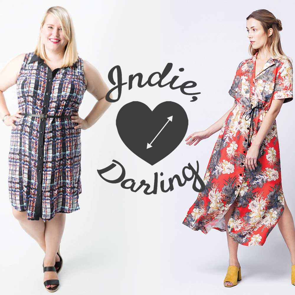 Best Indie Shirtdress Patterns