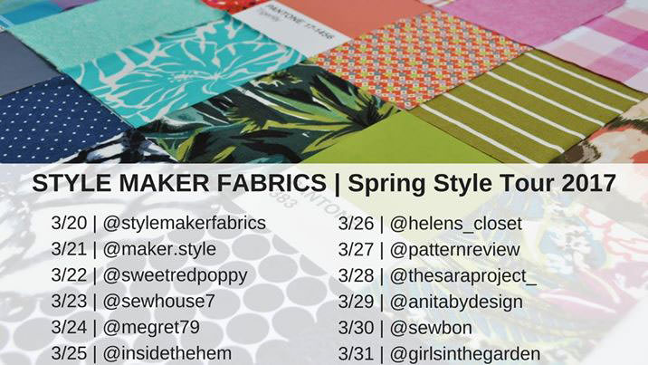 Style Maker Fabrics Spring Tour