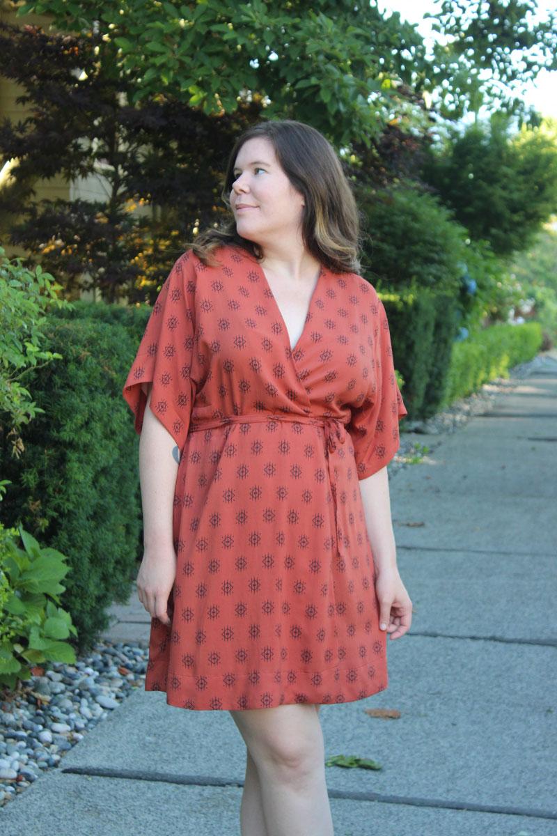 Suki Kimono Dress