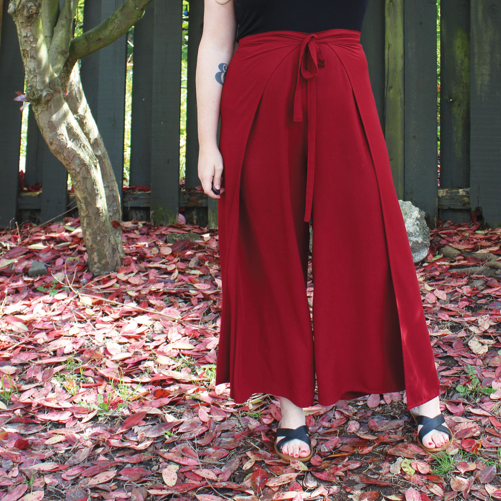 Winslow Culottes Wrap Pants