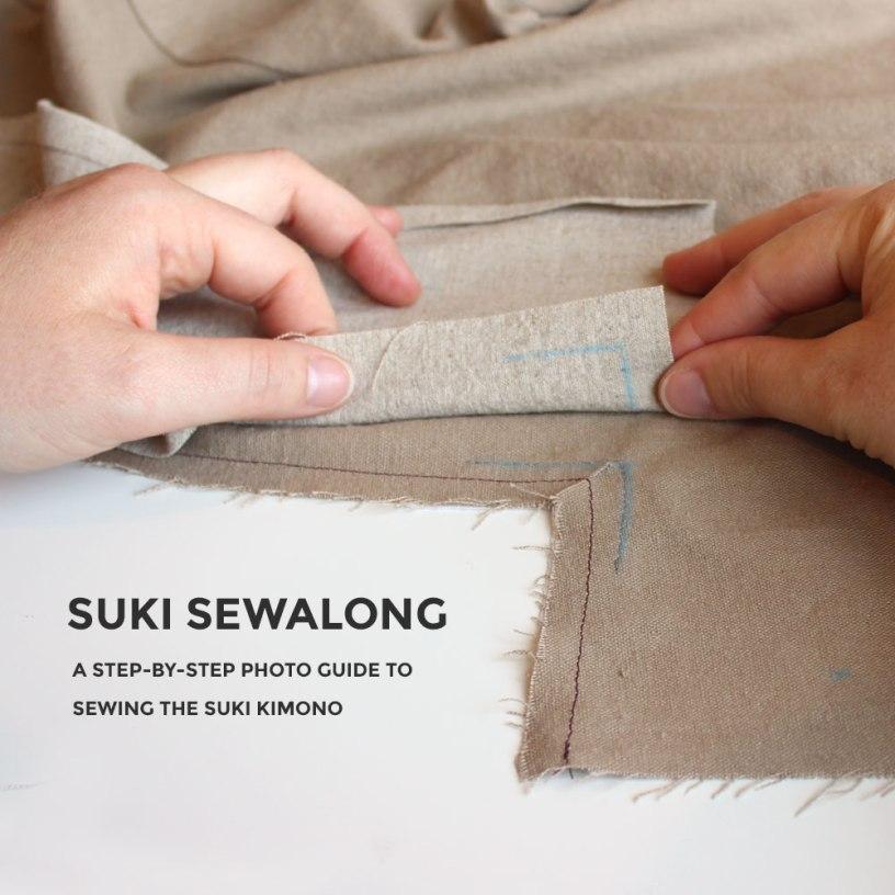 Suki Kimono Sewalong