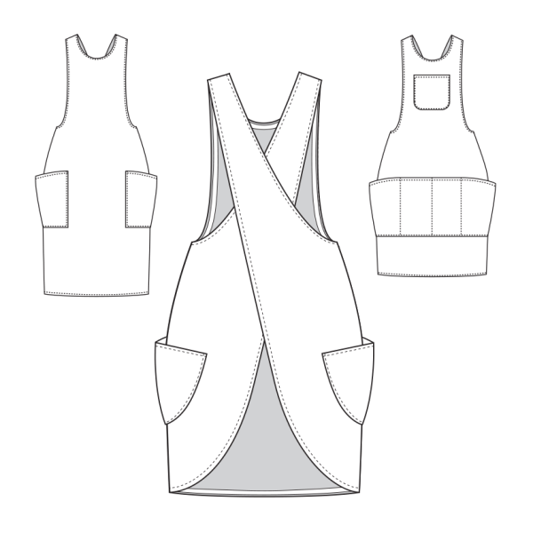 York Pinafore Apron Expansion