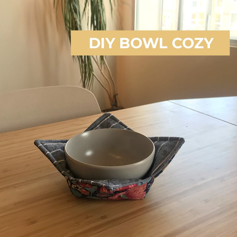 Sustainable Scrap-Busters: Soup Bowl Cozy