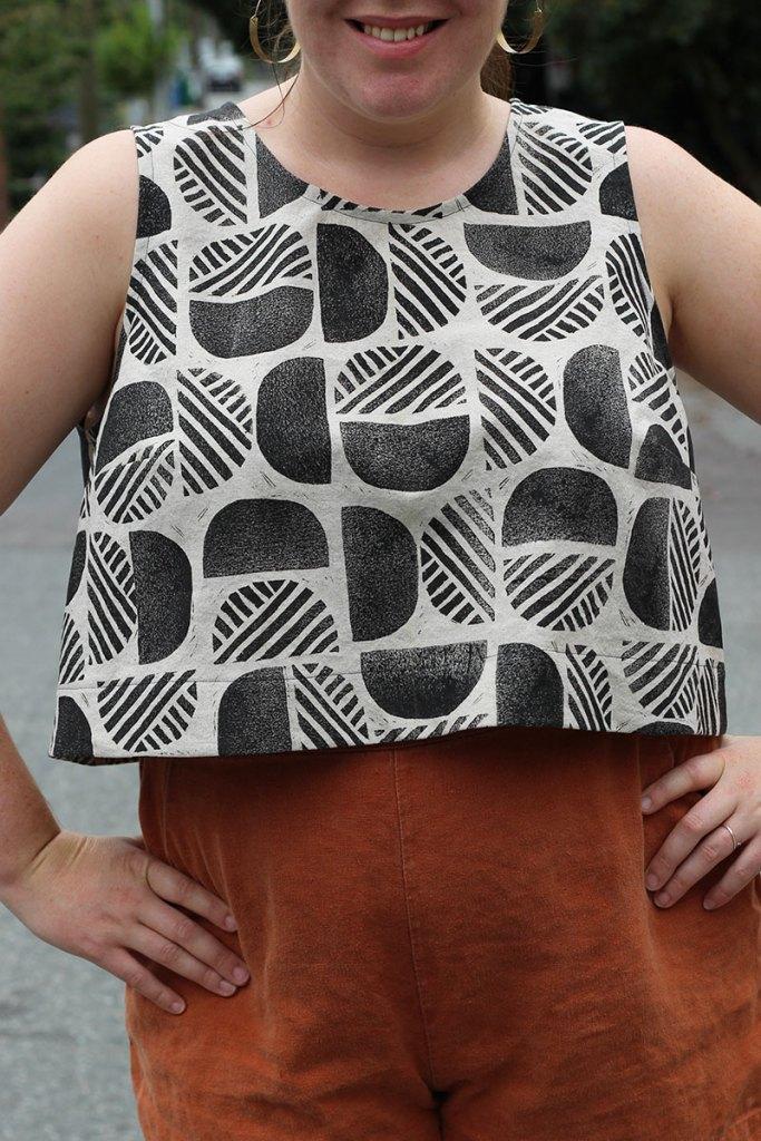 Block Printed Ashton Top