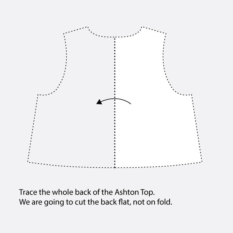 Tulip Back Ashton Top Hack