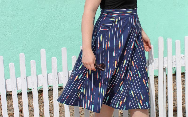 Sewaholic Hollyburn Skirt by Helen's Closet