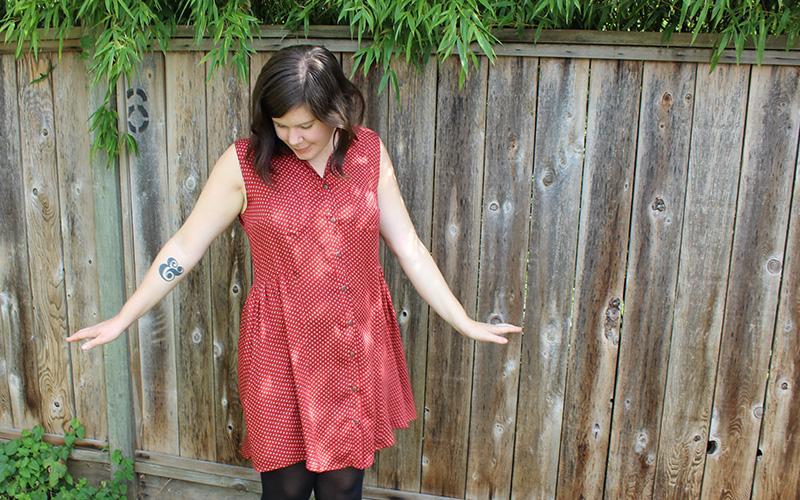 Alder Shirtdress by Helen's Closet