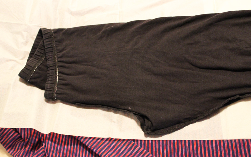 DIY Yoga Pants by Helen's Closet