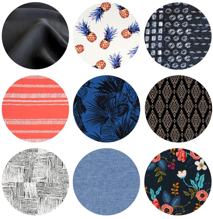 Winslow Culottes Fabrics