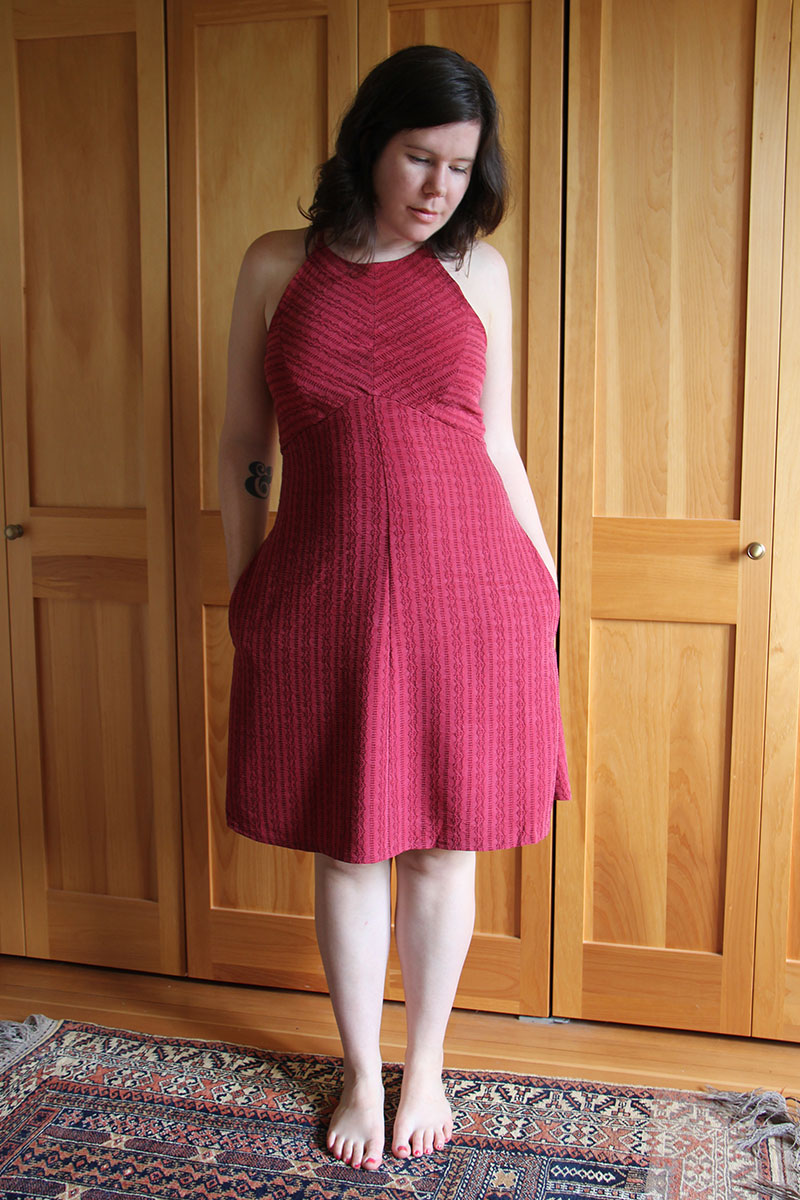In the Folds Acton Dress by Helen's Closet